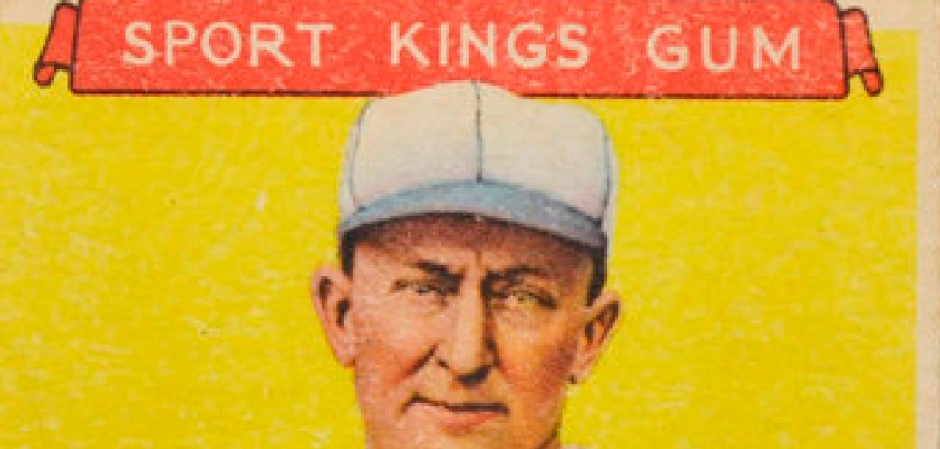Ty Cobb Goudey Sport Kings Top 1933