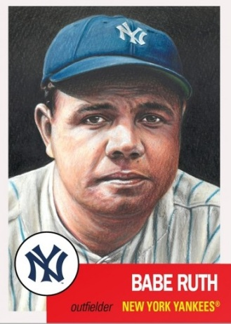 Babe Ruth Topps Living Set