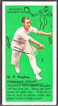 GP Hughes 1936 Players Tennis 1 Near Border