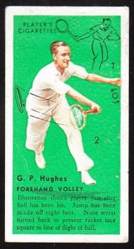 GP Hughes 1936 Players Tennis
