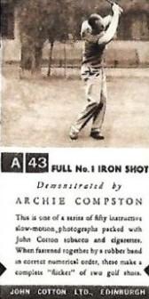 John Cotton Golf Strokes 2