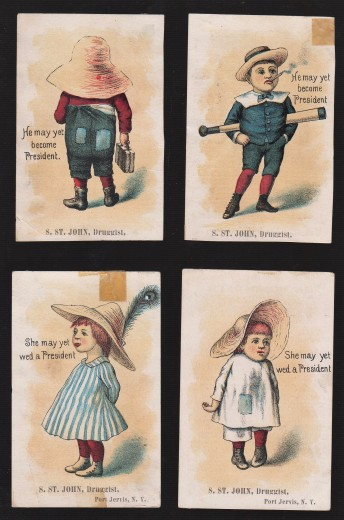 May Yet Become Wed President Trade Cards