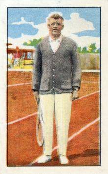Vittoria Egyptian Cigarette Tennis Card