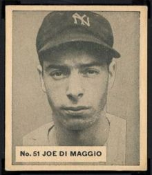 1936 World Wide Gum DiMaggio