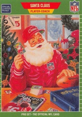 Pro Set 1989 Santa Claus