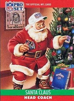Pro Set 1990 Pro Set Santa Claus