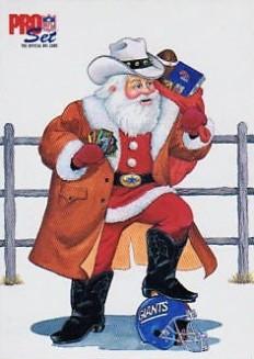 Pro Set 1992 Santa Claus
