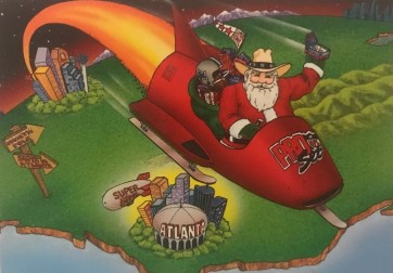 Pro Set 1993 Santa Claus