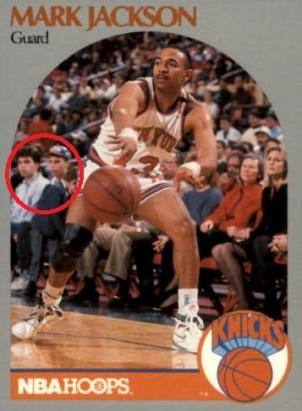 Mark Jackson 1990-91 Hoops Menendez Brothers Basketball Card