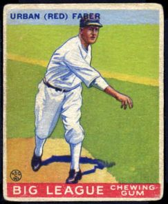 1933 goudey red faber