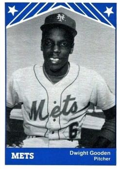 Dwight Gooden 1983 TCMA Minor League Card