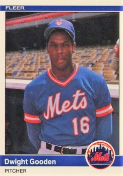 Dwight Gooden 1984 Fleer Update Rookie Card
