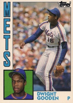 Dwight Gooden 1984 Topps Traded Tiffany