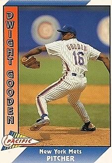 Dwight Gooden 1991 Pacific Prototype