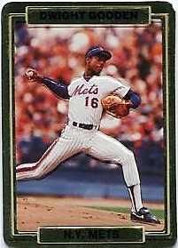Dwight Gooden Action Packed Promo 1988
