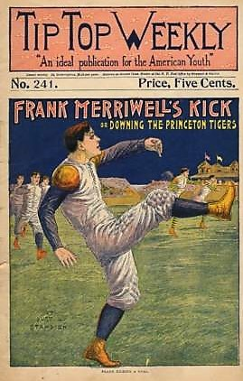 Frank Merriwell Tip Top Weekly Football