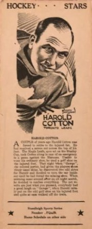 harold cotton stoodleigh
