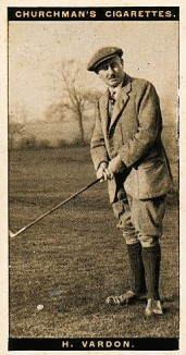 harry vardon 1927 churchman famous golfers