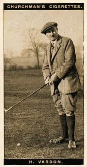 harry vardon 1927 churchman famous golfers