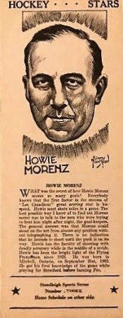 howie morenz stoodleigh