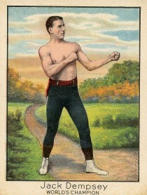 jack dempsey t220 boxing card