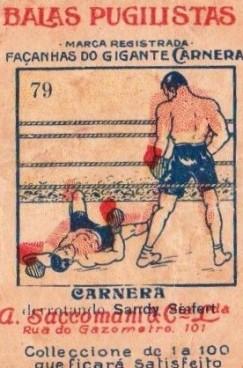 Balas Pugilistas Primo Carnera Boxing