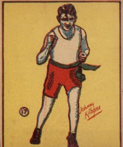 NX5 American Sweets KnockOut Gum Boxing Card