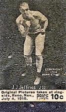 1910 Dana Studio James Jeffries Jack Johnson Flip Book