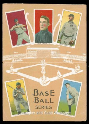 1913 Base Ball Series Notebook Cover