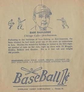 Babe Dahlgren R301 Overland Candy Wrapper