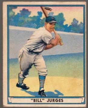 Bill Jurges 1941 Play Ball