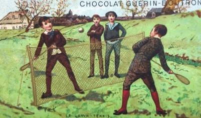 Guerin-Boutron Sports Trade Cards Tennis