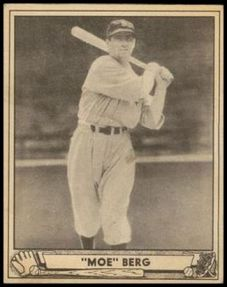 1940 Play Ball Moe Berg