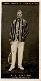 Anthony Wilding 1928 Churchman Tennis