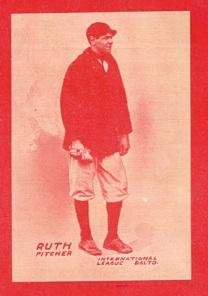 Babe Ruth 1914 Baltimore News