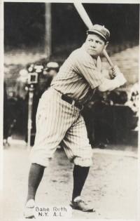 Babe Ruth 1933 Worch Cigar