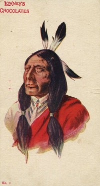 E230 Lowney Postcard Native American