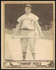 Jimmie Foxx 1940 Play Ball