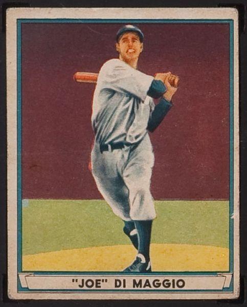 Joe DiMaggio 1941 Play Ball