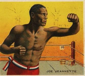 Joe Jeannette T218 Champions Boxing
