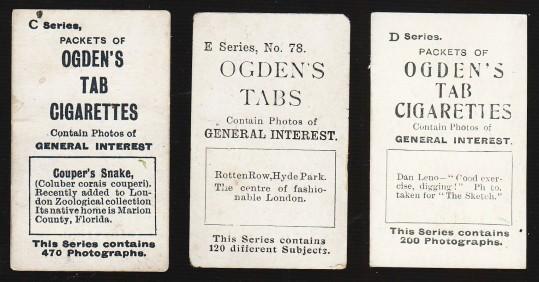 Ogden Tabs General Interest Backs