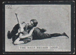 Ogden Tabs Gilbert's Lady Wrestlers Wrestling Card