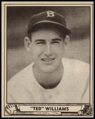 Ted Williams 1940 Play Ball