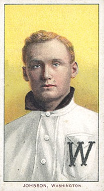 Walter Johnson Portrait T206