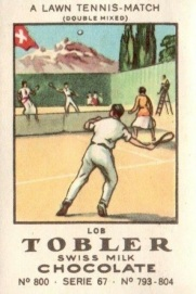1922 Lawn Tennis Tobler Stamps