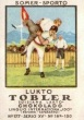 1922 Tobler Summer Sports Wrestling Stamp