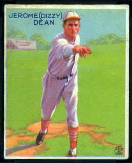 1933 Goudey Dizzy Dean