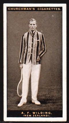 Anthony Wilding 1928 Churchman Lawn Tennis