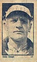 Casey Stengel Maple Crispette 1923