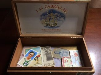 Cigar Box with Cards